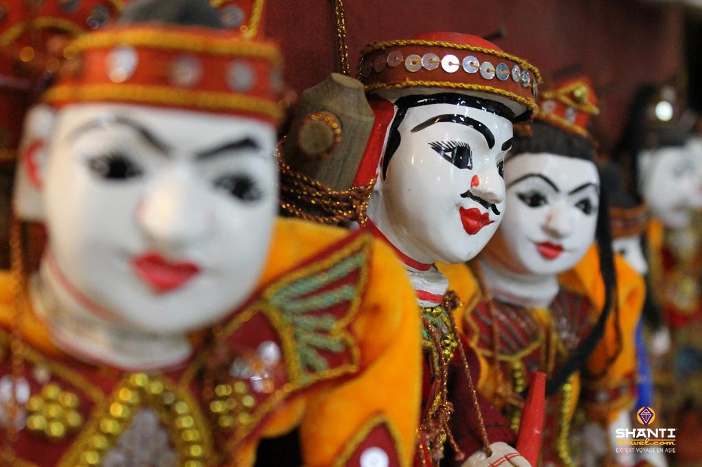 birmanie marionnettes mandalay
