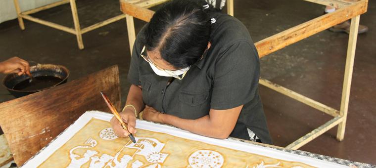 batik art sri lanka