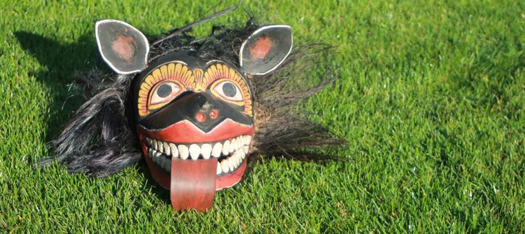 demon masque