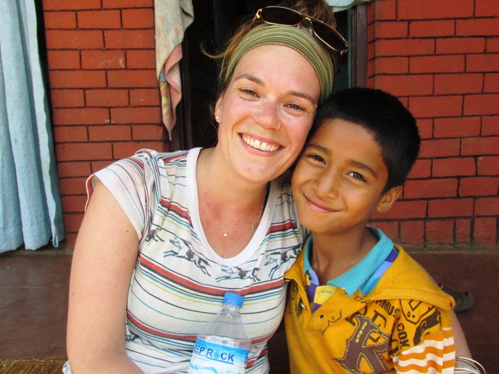Julie Turcotte - Exerte Népal