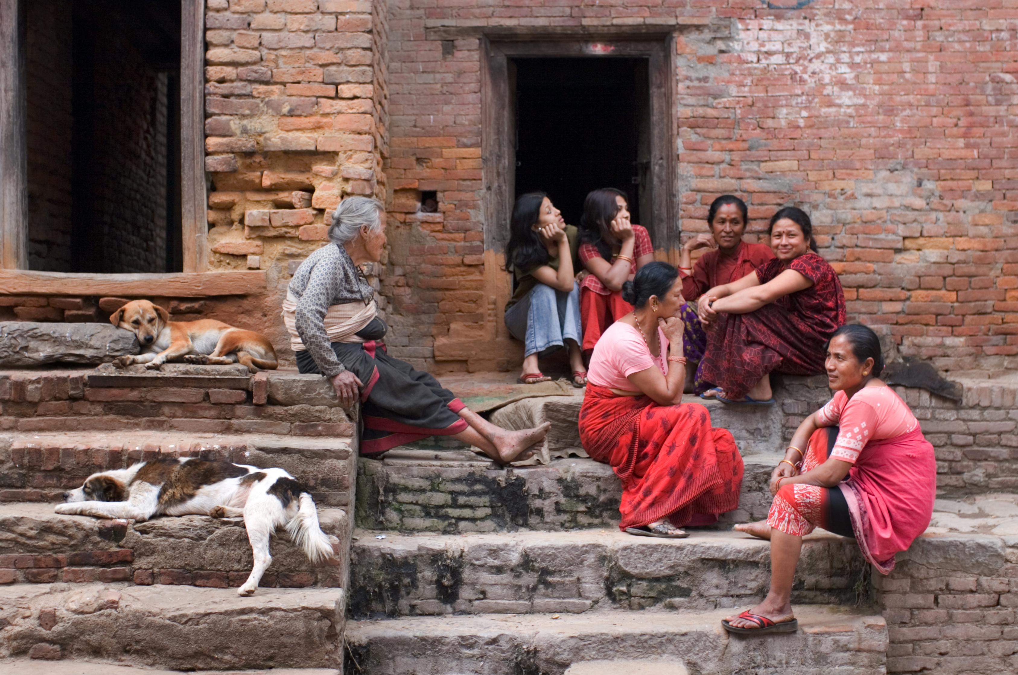 Nepal Kathmandu Women