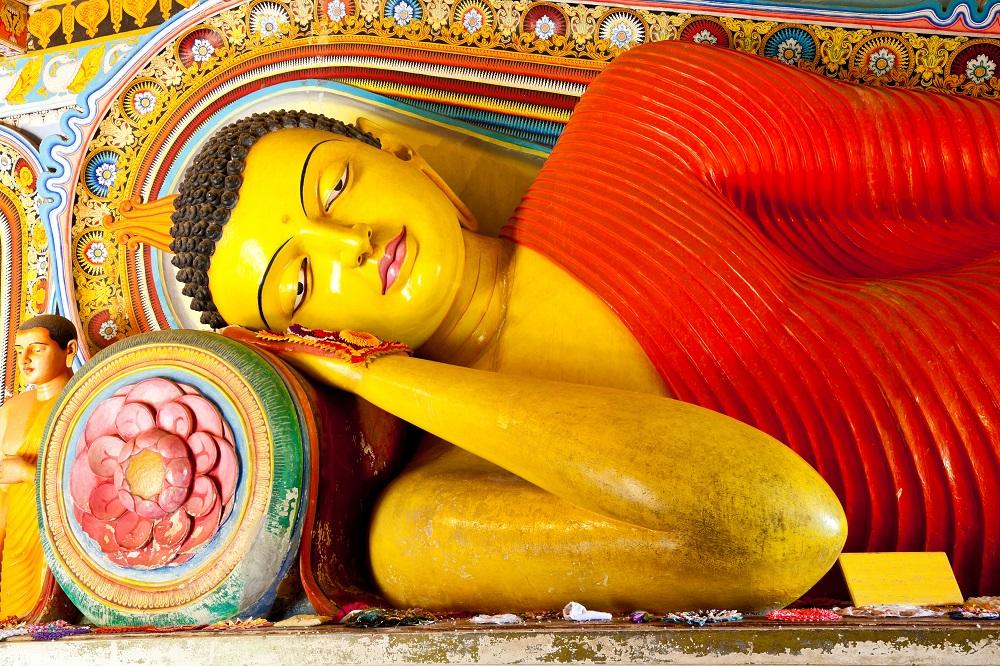 SriLanka Anuradhapura Buddha closeup