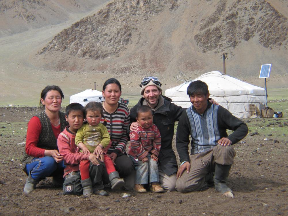 alex in mongolia