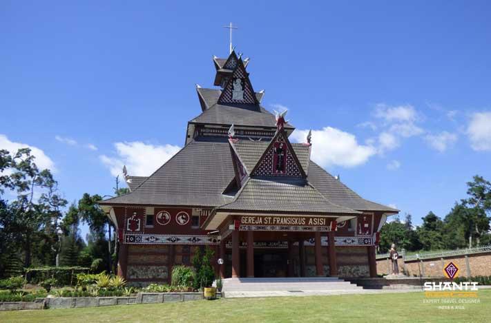 Eglise Berastagi