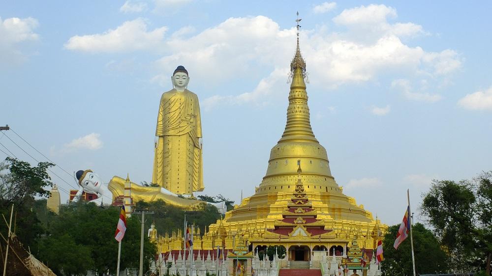 bodhitataung monywa birmanie