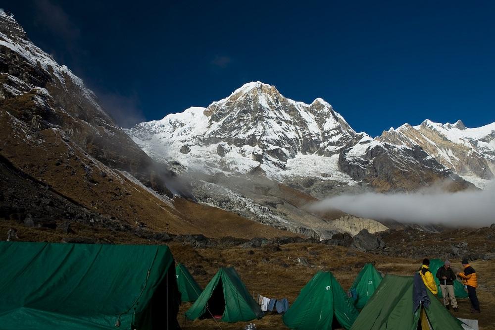 Annapurnas base camp