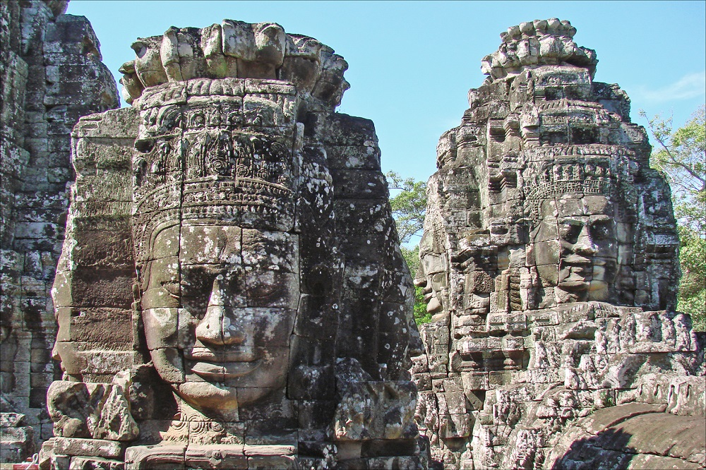 Angkor et ses sourires