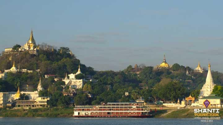 Birmanie Sagaing Pagodes
