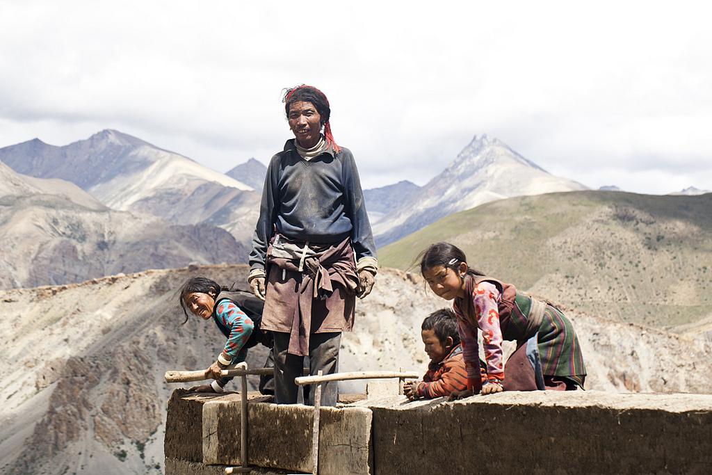 Nepali family