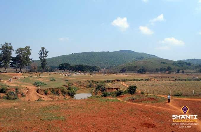 landscape in orrisa