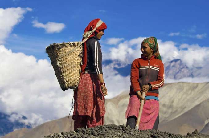 Népal population locale
