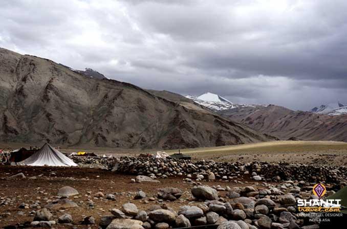 Tente des nomades du Changtang
