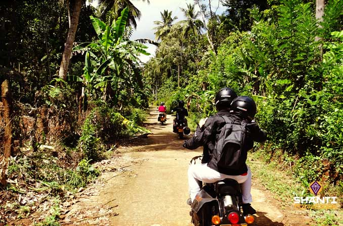 Route moto Sri Lanka