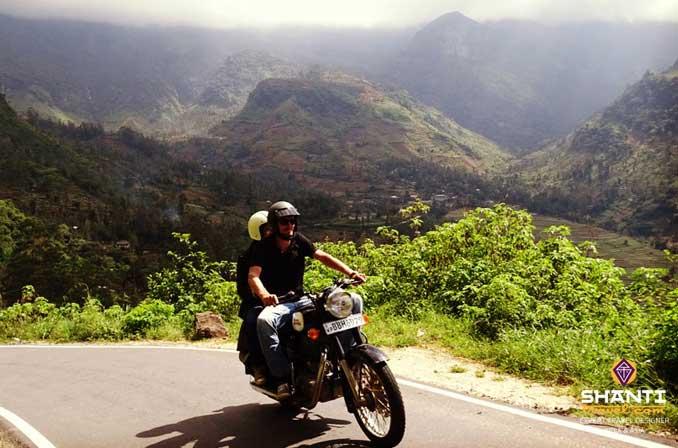 Le Sri Lanka à moto