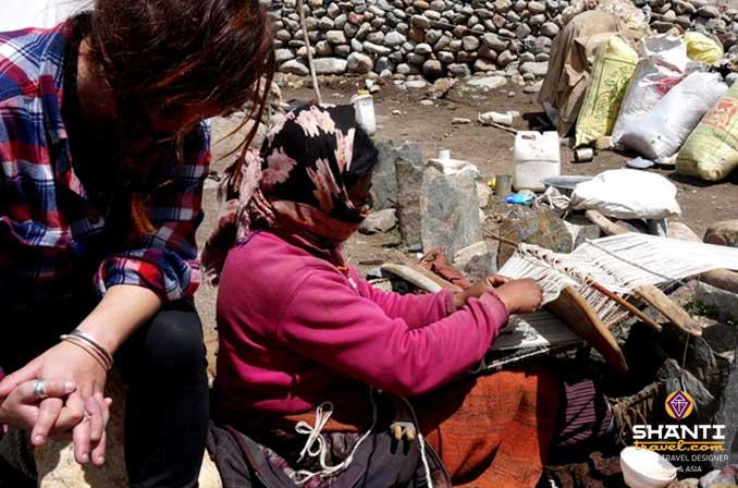 Tissage Ladakh