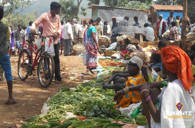 orrisa tribal market