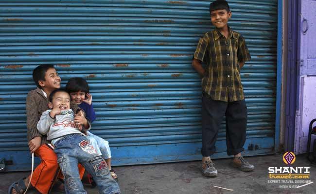 enfants sikkim
