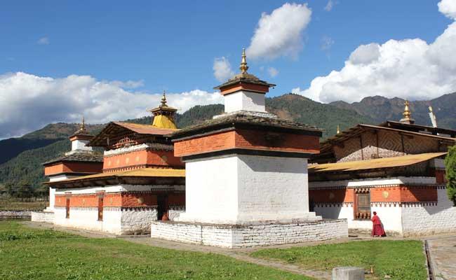 Monastère au Bhoutan