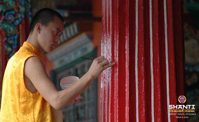 Sikkim monastère