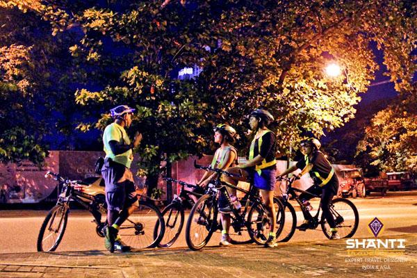 Colombo à vélo