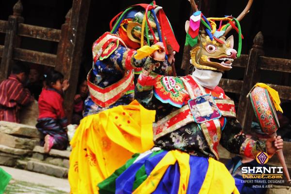 Bhoutan dance