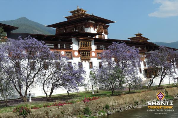 Bhoutan - Rivière Timphu