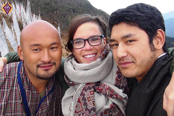 Chele La Kuenzang, Tenzin et Julie