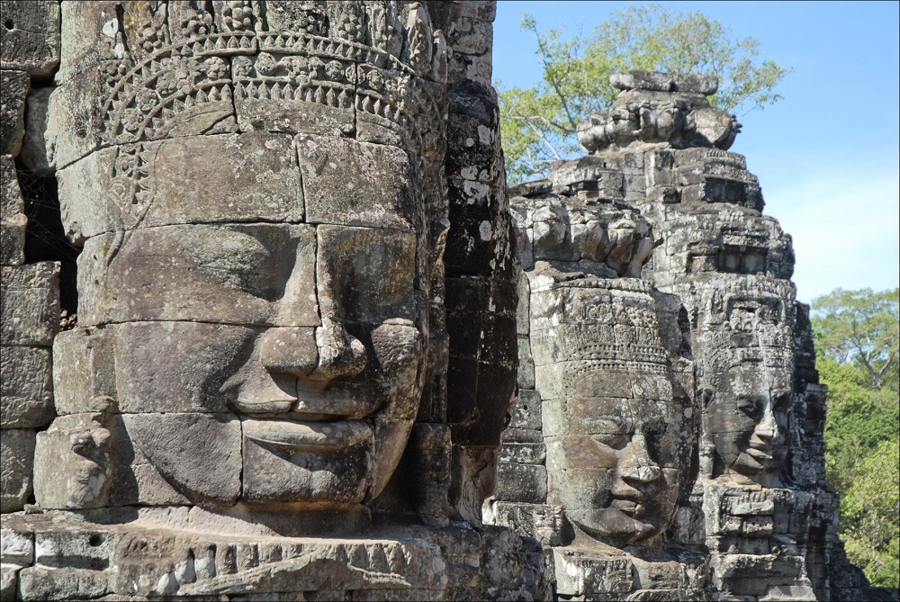 stone sculpture in Angkor Wat