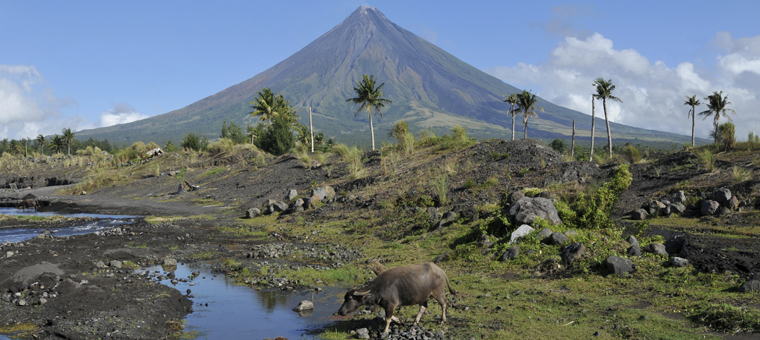 Philippines volcan