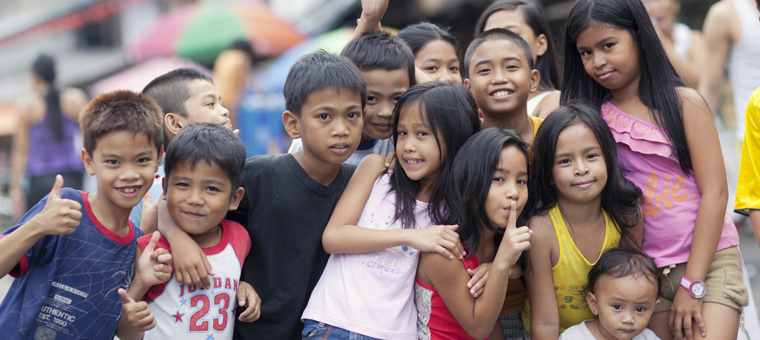 Philippines enfants