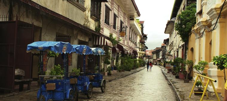 Philippines quartier historique