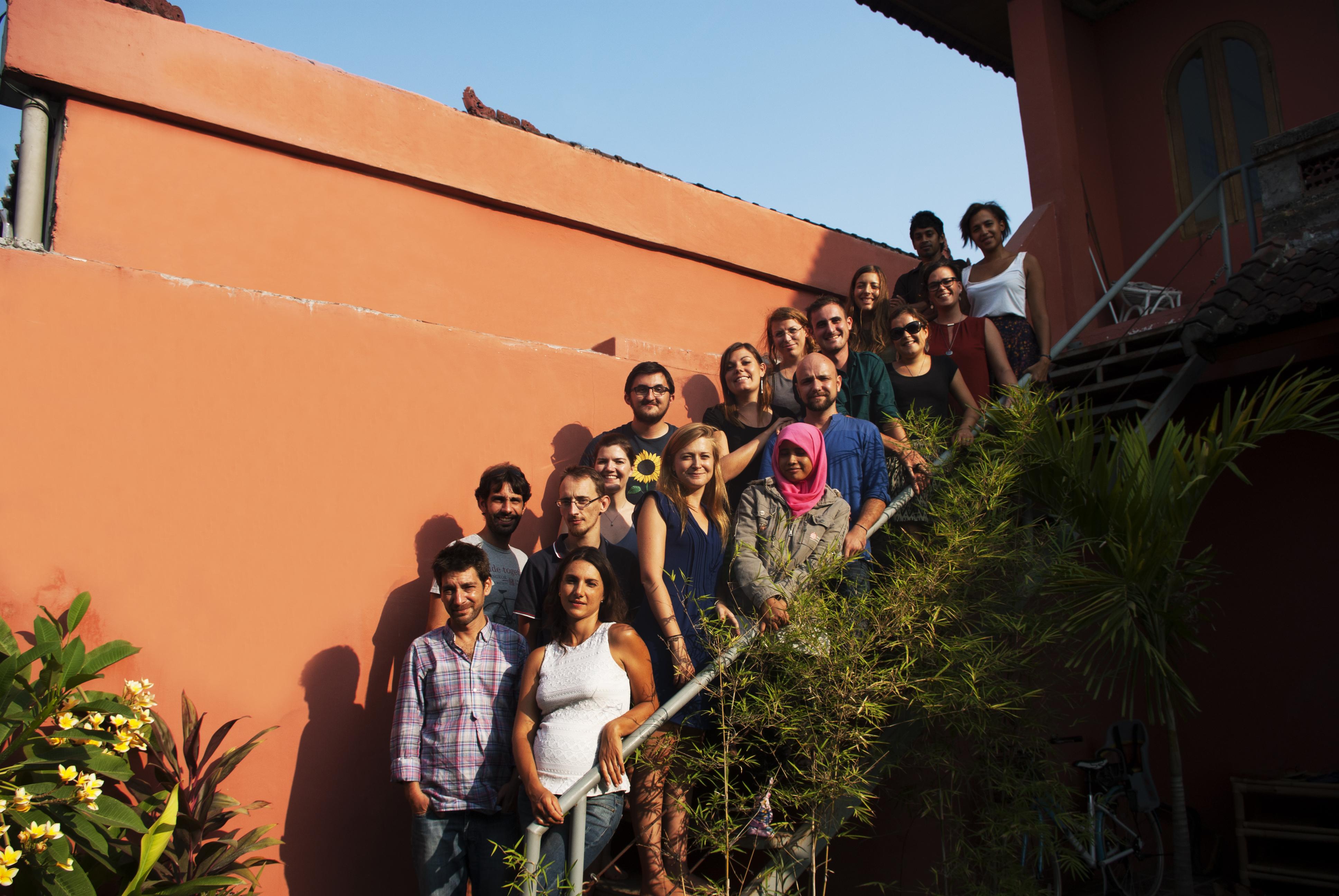 Shanti Travel team