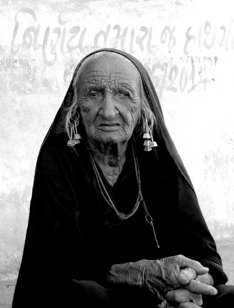 Portrait d'une femme du Gujarat - Jeremie