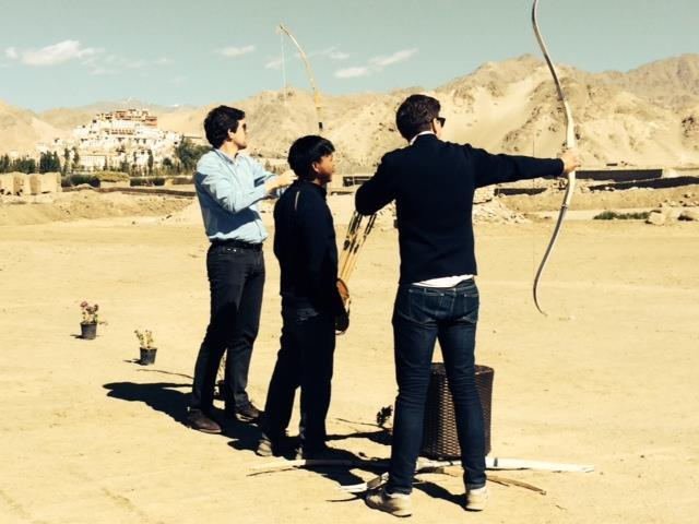 tir à l'arc ladakh