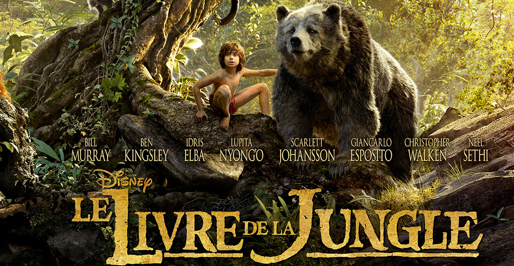 affiche livre de la jungle