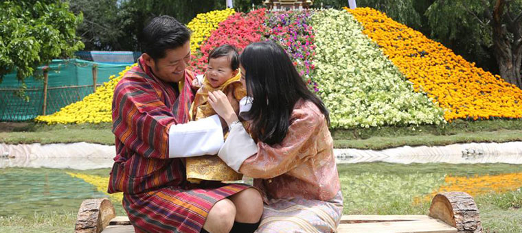 famille-royale-bhoutan