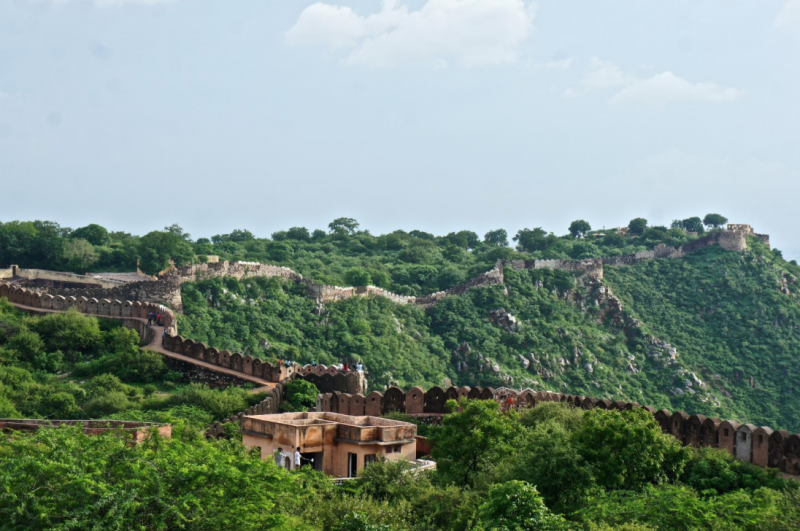 Jaipur from the Nehergarh Fort