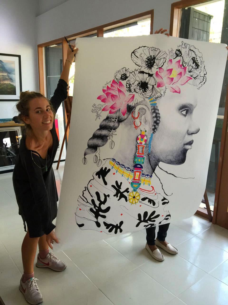 Beauté et créativité à Bali