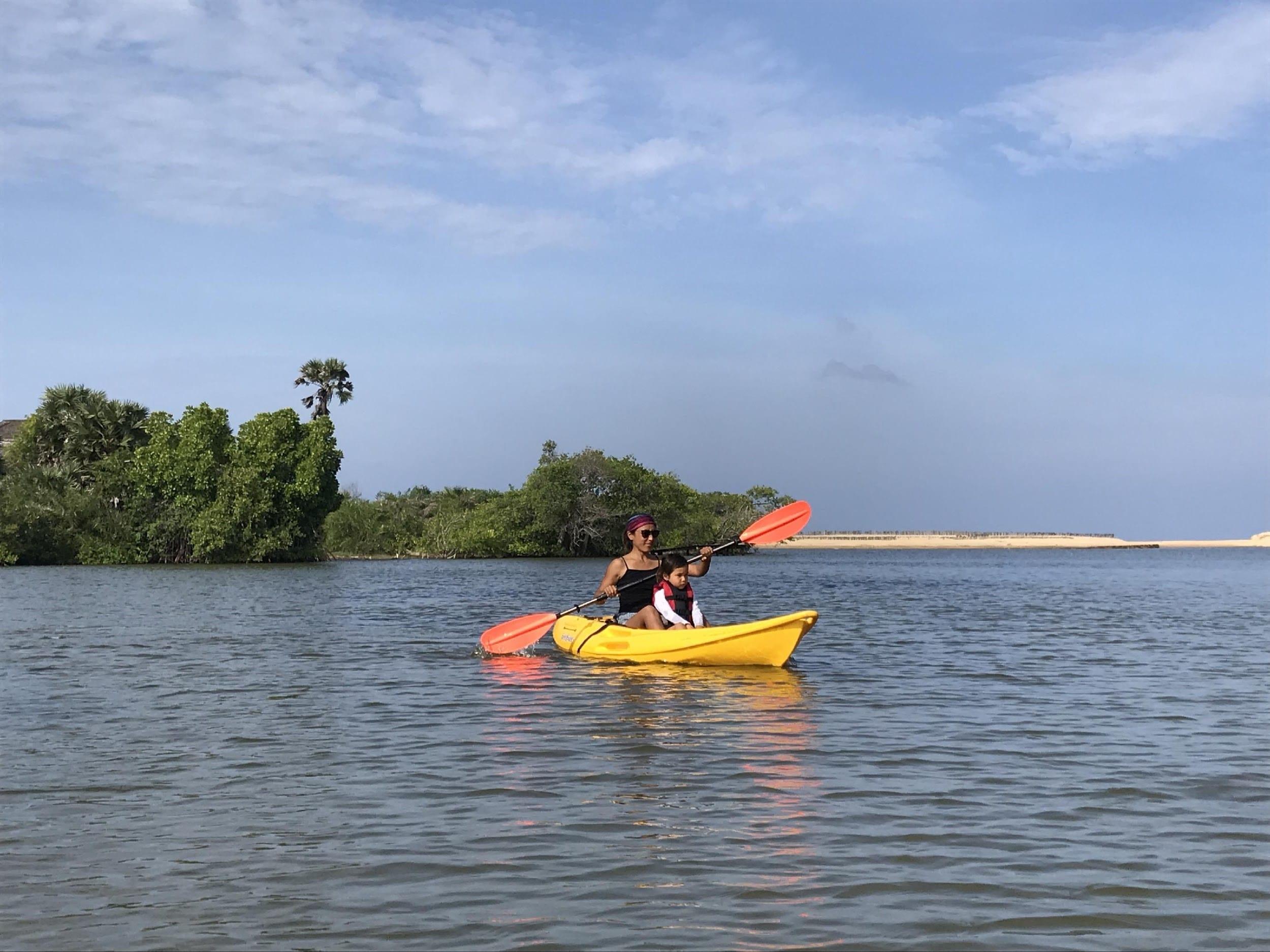 Lagune de Kalpitiya, Sri lanka
