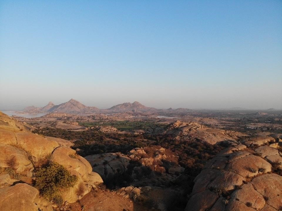 Région de Jawai, au Rajasthan, Inde